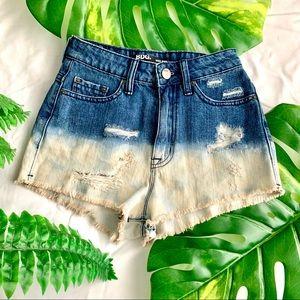 BDG Bleached Denim Shorts